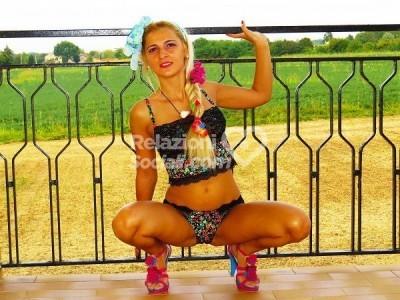 Selena Blonde Escort Brescia
